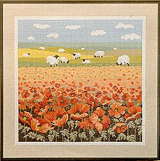 Country Poppies Chart Pack